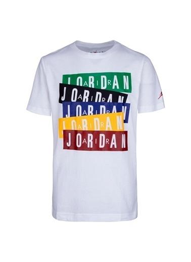Nike Nike 95A069-001 Air Jordan T-Shirt Beyaz